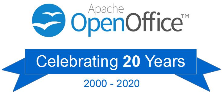 OpenOffice célèbre ses 20 ans